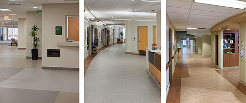 Rehab Corridors Designed by Array Architects