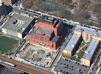 Aeriel View of HJC Construction