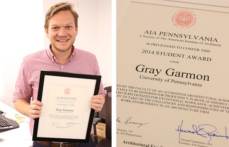 Gary Garmon AIA Award Photograph