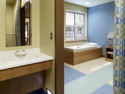 Bathroom in Behavioral Health Facility