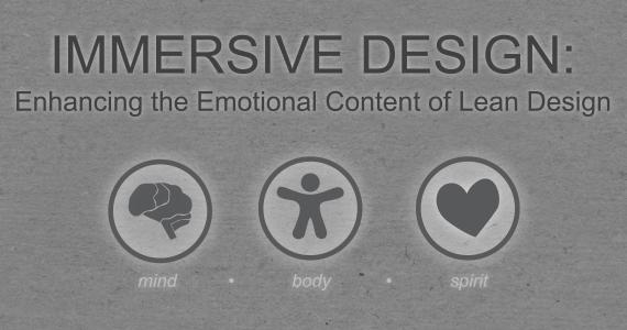 immersive Design graphic Body mind spirit