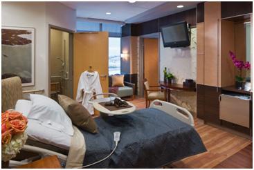Custom Millwork in Private Patient Room