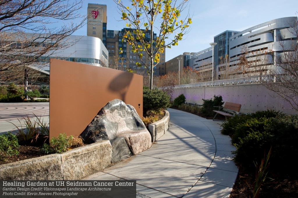 Healing Garden at UH Seidman Cancer Center