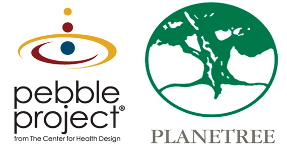 Pebble Project Logo | Planetree Logo