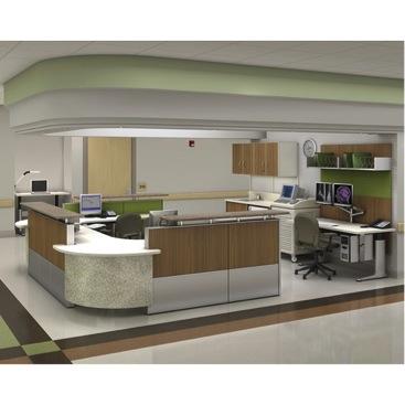 University Hospital Center for Emergency Medicine Nurse Station. Product by Herman Miller Healthcare
