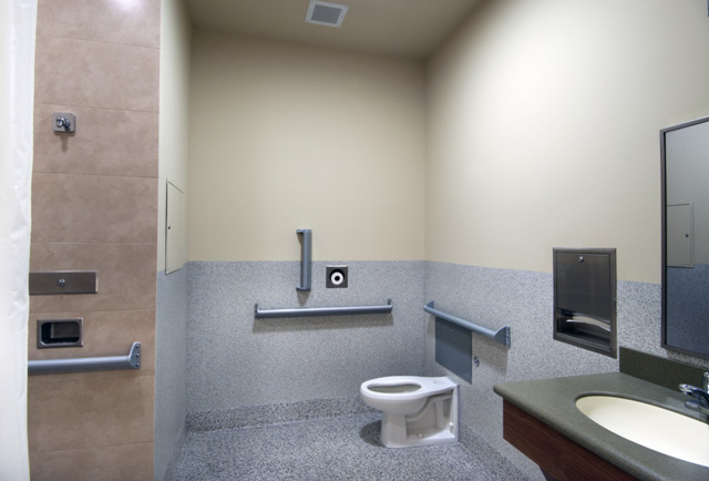 Behavioral Health Facility Bathroom