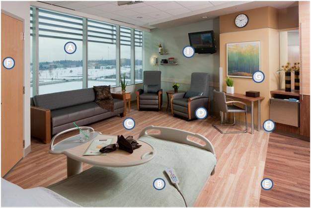 Pat Malick Patient Room Design Elements