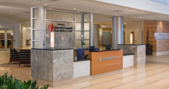 University Maryland Medical Center Information Center Desk
