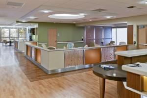 Zucker Hillside Hospital Nurses Station