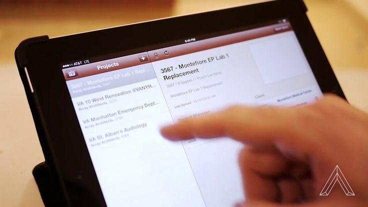 iPad User on Newforma Application