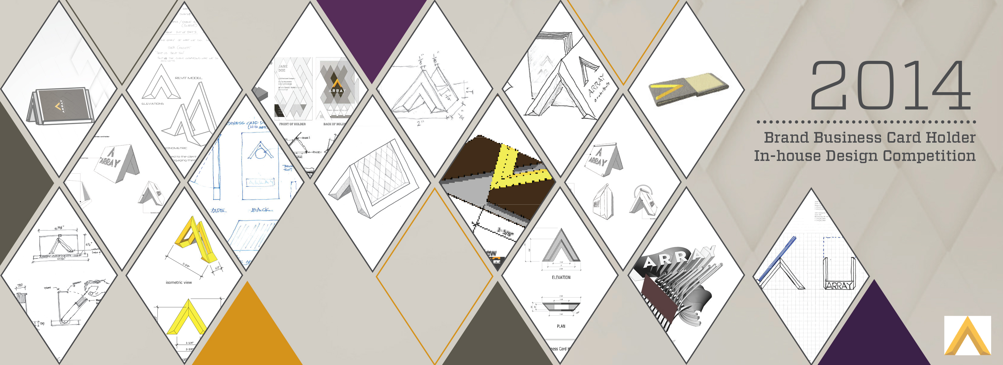 Array Architects 2014 Brand Business Holder Design Competition