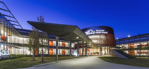 Zucker Hillside Hospital at Night