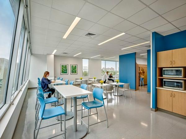 Staff Lounge Jefferson Health Navy Yard