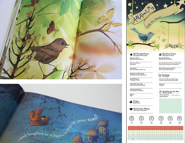 Childrens Hospital of New York Nature Book Literary Theme