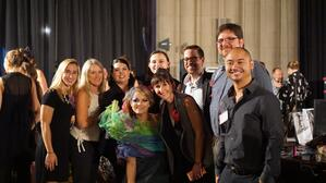 DC Array Architects team at the Cosmo Couture Fashion show