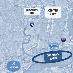Navy Yard Location Map