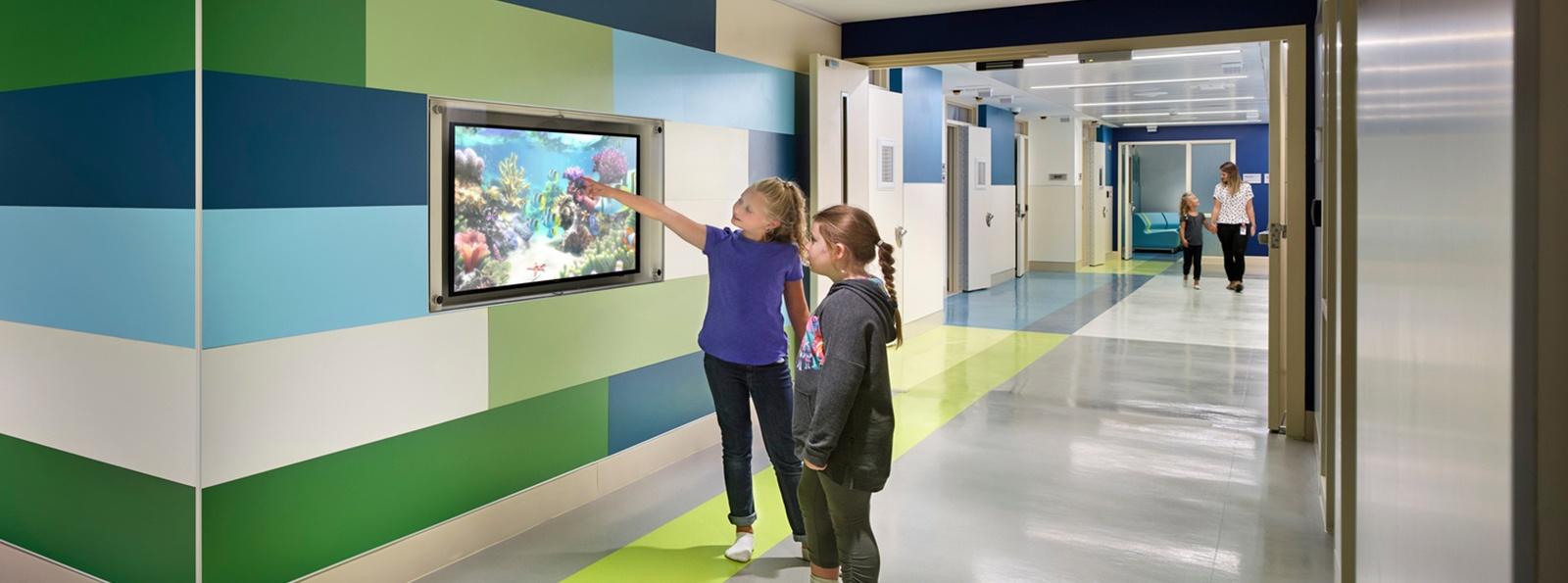 Children in Behavioral Health Facility