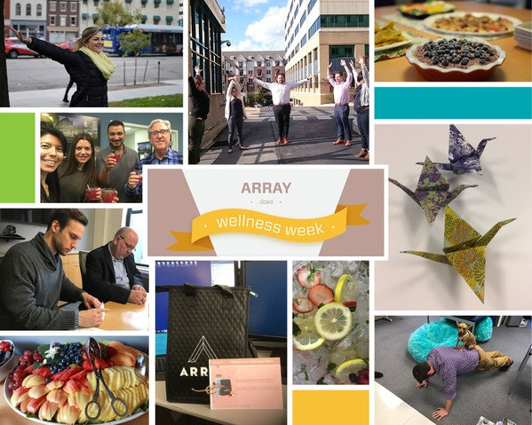 Array Architects wellness week