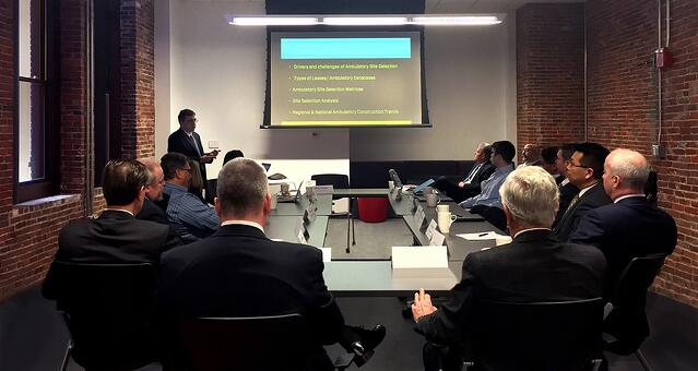 Boston Healthcare Leader Roundtable in session