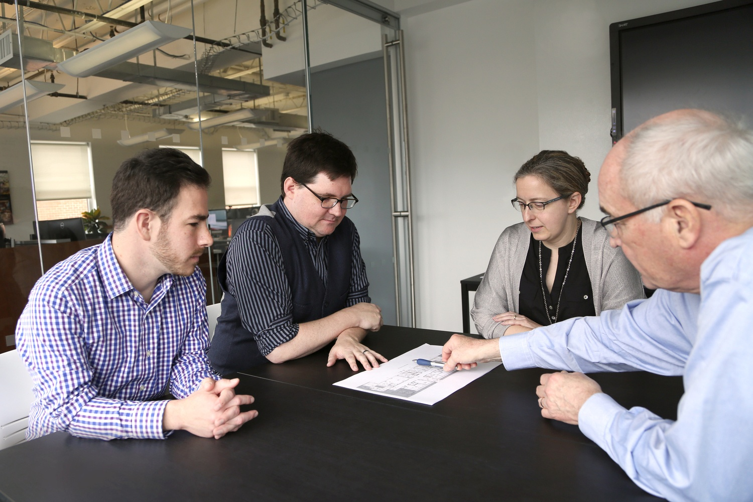 Architects Meeting in Array's DC Office