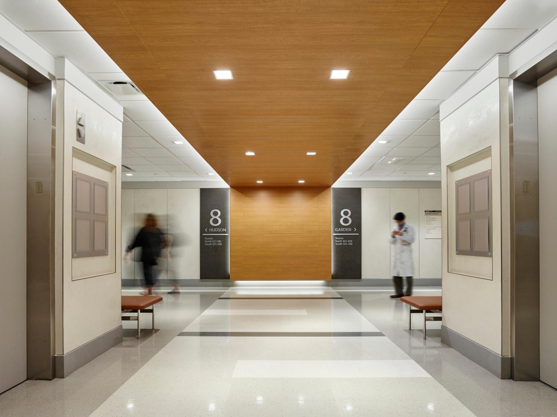 NewYork-Presbyterian Milstein Elevator Lobby