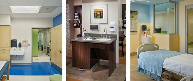 Hospital Handwashing Station Collage