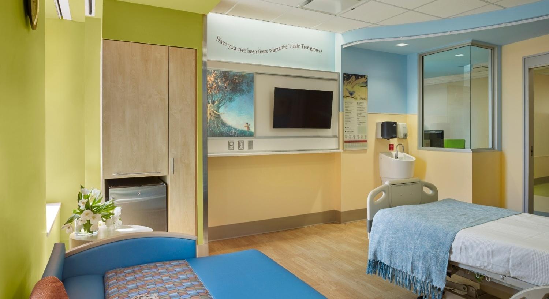 Pediatric Inpatient Unit Design - Array Architects