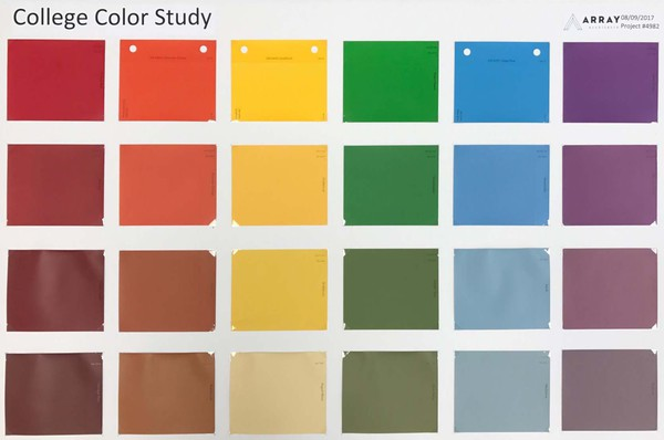 UTSW College Color Study