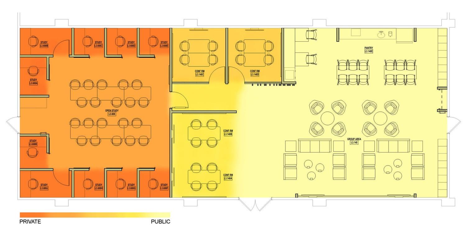 UTSW Medical Student Lounge Design