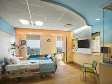 CHoNY PICU patient room