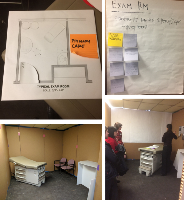 Exam Room Design Mockup